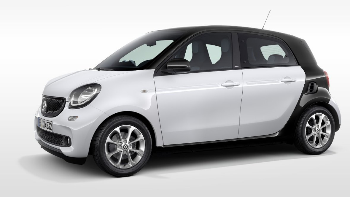 rent a smart forfour europcar belgium. Black Bedroom Furniture Sets. Home Design Ideas