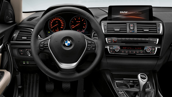 Rent a bmw 1 series europcar belgium for Serie 1 interieur